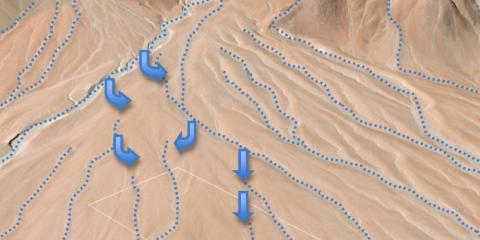 Geomorfología y amenazas naturales planta solar fotovoltaica Chile
