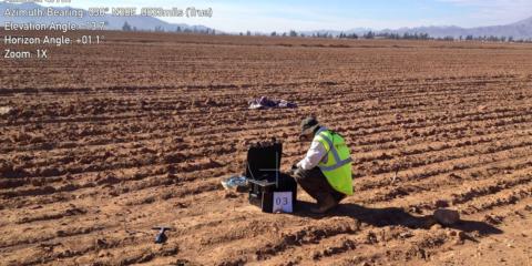 Estudio geotécnico y mecánica de suelos para una planta solar fotovoltaica en Vallenar, Región de Atacama, Chile.